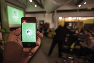 Evernote - Image: Evernote Meetup Paris (8248451090)