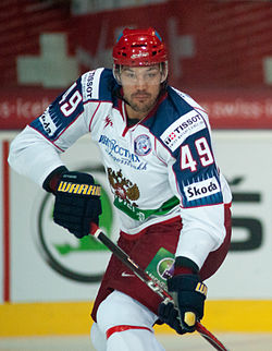 Evgeny Artyukhin - Switzerland vs. Russia, 8th April 2011 (1).jpg