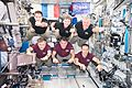 Expedition 50 inflight crew portrait in the Columbus lab.jpg