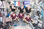 Expedition 50 inflight crew portrait in the Columbus lab.jpg