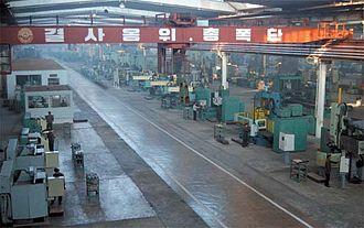 Chagang Province - Image: Fábrica máquinas herramienta Huichón (5)