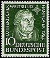 Fédération mondiale Luthérienne (timbre RFA).jpg