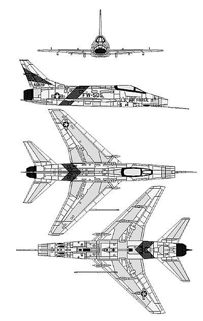 North American F-100 Super Sabre - Wikipedia on