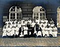 F. Lejars and the staff of Saint-Antoine hospital, Paris. Ph Wellcome V0028224.jpg