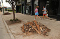 FEMA - 32805 - Joggers running by debris piles in Ohio.jpg