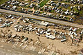 FEMA - 38449 - Aerial of damaged beach front mobile home park in Texas.jpg