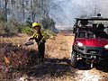 FL DEP Ranger Teri Graves assisting on a prescribed fire at Lower Suwannee NWR (16237633275).jpg