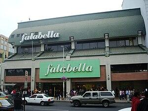 Falabella (retail store) - Image: Falabella Viña
