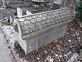 Farkasréti Jewish cemetery. Sándor Szántó, pharmacist. Sarcophagus. - Budapest.JPG