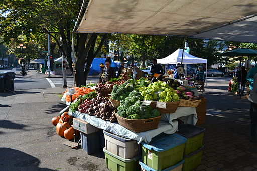 Farmers Market and Occupy Eugene