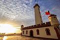 Faro Monumental de La Serena al atardecer.jpg