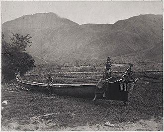 Kristen Feilberg - Image: Feilberg Batak canoe Sumatra 1870
