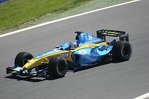 Renault R24 - Image: Fernando Alonso 2004 Canada