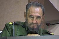 Fidel Castro in un fotogramma del film La verdad de frente al mundo.jpg