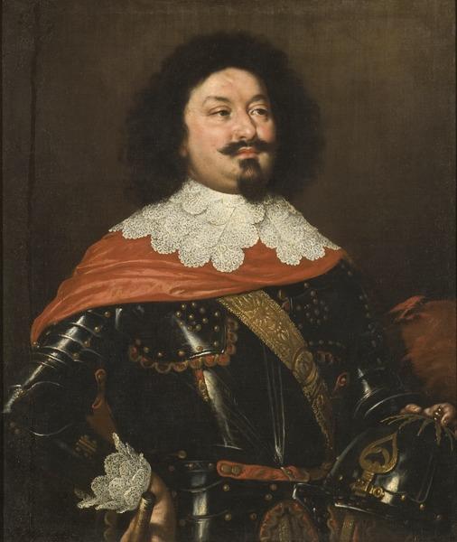 Field Marshall Ottavio Piccolomini (Justus Sustermans) - Nationalmuseum - 17768
