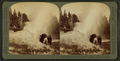 Fifteen-minute display of 'Riverside Geyser' – boiling water 100 feet in air – Yellowstone Park, U.S.A, by Underwood & Underwood 3.png
