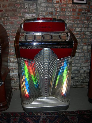 Extended play - Filben Maestro 78 rpm jukebox