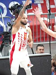 Човић као играч Црвене звезде