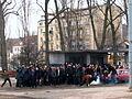 Filmmaking of 'Black Thursday' on crossway of ulica Świętojańska and Aleja Józefa Piłsudskiego in Gdynia - 163.jpg