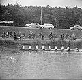 Finale Dames oude acht op de Bosbaan Links Van der To rechts Alwin, Bestanddeelnr 915-2681.jpg