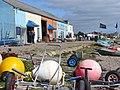 Findhorn Boatsheds - geograph.org.uk - 884254.jpg