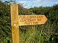 Fingerpost for The Centenary Way near Filey - geograph.org.uk - 558040.jpg