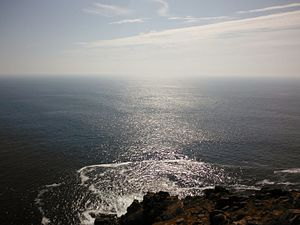 Cape Finisterre - Finisterre on the Atlantic coast of Galicia