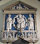 Firenze, chiesa della misericordia, interno, pala di andrea della robbia 02.JPG