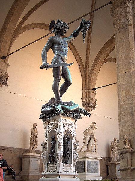 Pintura e escultura do mundo 450px-Firenze.Loggia.Perseus01