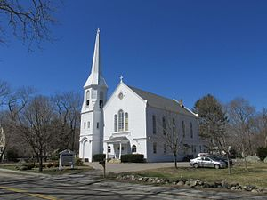 First Baptist Church of Scituate - The church in 2013