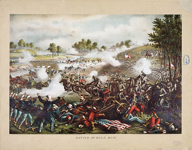 The First Battle Of Bull Run Or Manassas Was Located In Fairfax County Virginia And Prince William Results Were PTG