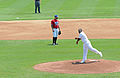 First pitch at Norfolk Tides 2010-06-24.jpg
