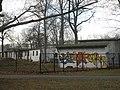 Flachbauten am Südpark Erfurt.JPG