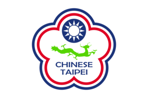 Badminton at the Deaflympics - Image: Flag of Chinese Taipei for Deaf