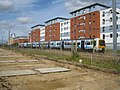 Flats for train lovers - geograph.org.uk - 1705161.jpg