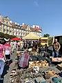 Flea market at Zamkowy Square in Lublin, Aug 2019, 07.jpg