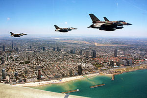 Independence Day (Israel) - Israeli Air Force Independence Day flypast, 2011