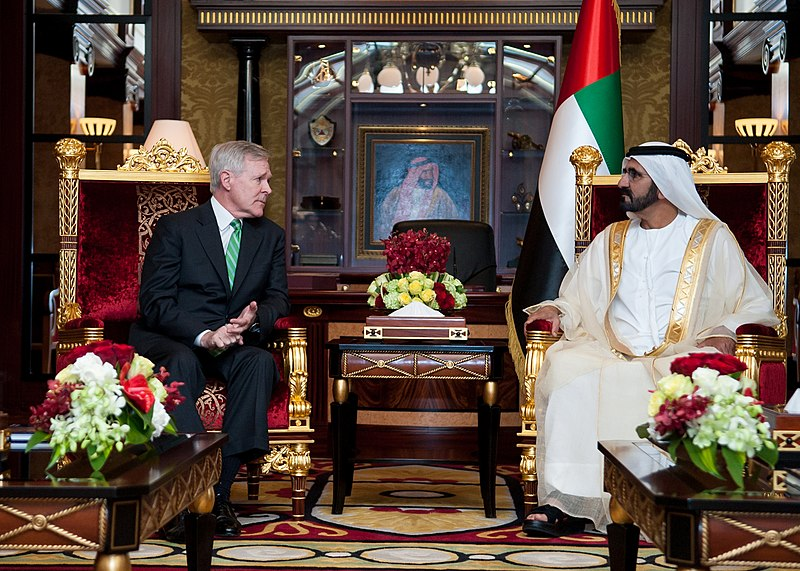 File:Flickr - Official U.S. Navy Imagery - The Secretary of the Navy meets with the Ruler of Dubai. (1).jpg