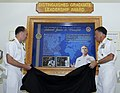 Flickr - Official U.S. Navy Imagery - VIP's unveil the 2012 Distinguished Graduate Leadership Award..jpg