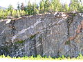 Flickr - brewbooks - Granite and Granodiorite roadcut, above Ross Lake.jpg