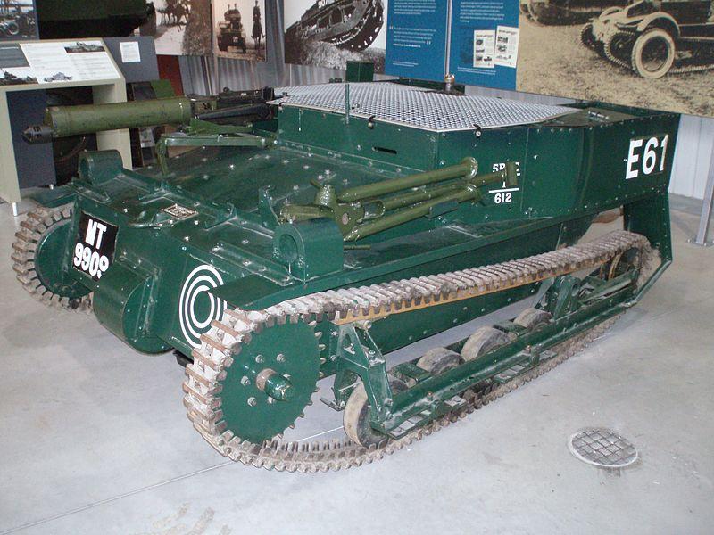 Carden Loyd Mk.VI tankette