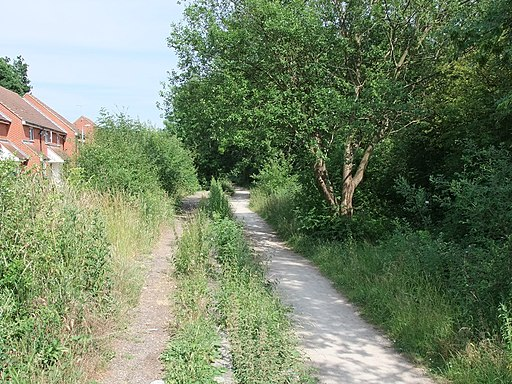 Flitch Way Country Park at Takeley Station (geograph 1956521)