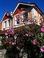 Flowery house, SUTTON, Surrey, Greater London - Flickr - tonymonblat.jpg