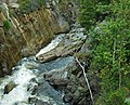 Flume Falls (West Branch of the AuSable River) (Wilmington Flume, Adirondack Mountains, New York State, USA) 9 (19916429229).jpg