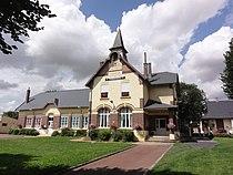 Fluquières (Aisne) mairie-école.JPG