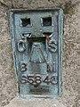 Flush bracket on the trig point, Pen-y-Fan - geograph.org.uk - 1514254.jpg