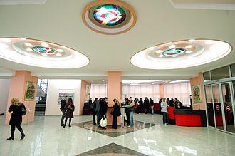 FON University - Ground floor of the University building