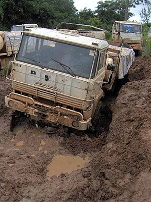 Transport in the Central African Republic - Most highways in the Central African Republic are unpaved and susceptible to damage.