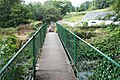 Footbridge across Afon Roe in Rowen - geograph.org.uk - 209015.jpg
