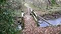 Footbridge near Byworth - geograph.org.uk - 1099649.jpg